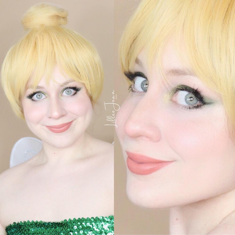 Peter Pan TinkerBell Drugstore Based COSPLAY Makeup Tutorial DISNEY 2020 | Lillee Jean