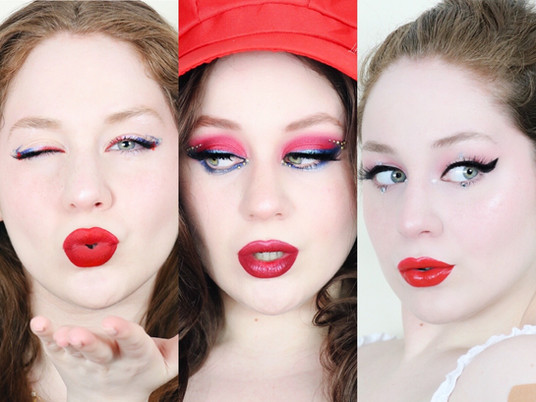 Top 3 Fourth Of July Makeup Looks by Lillee Jean