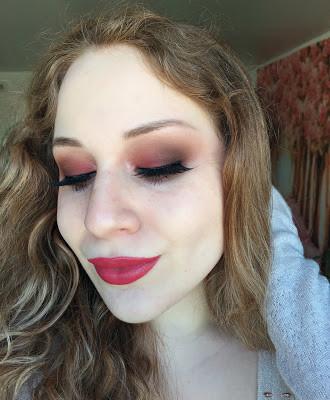 Valentine's Day: Soft Raspberry Smokey Eye Makeup Tutorial 2017 | Lillee Jean