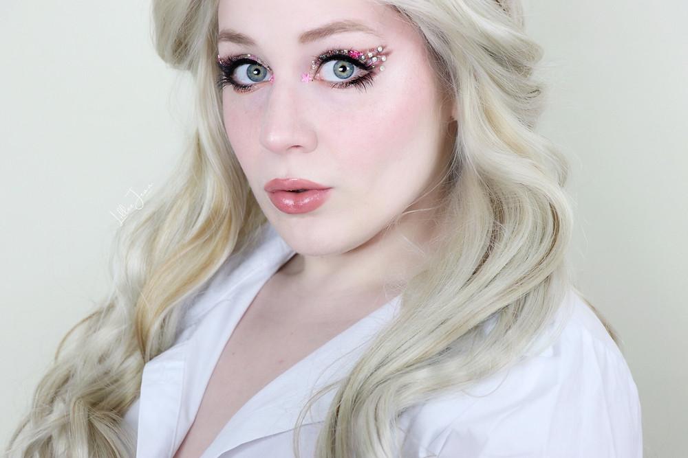 Harry Potter Luna Lovegood Makeup Tutorial   Too Faced Melted 2021   Lillee Jean