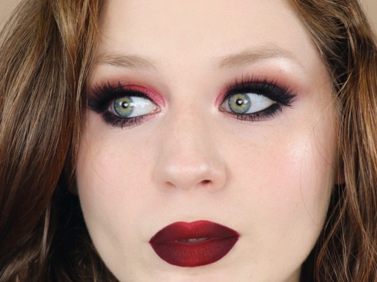 Vampy Red Valentines Day Makeup Tutorial 2020 | Lillee Jean