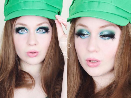 Luigi Mario Makeup Tutorial Makeup Revolution CHILLED 2021 | Lillee Jean