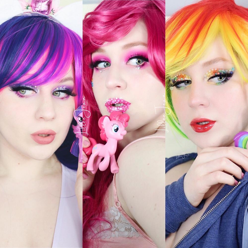 My Little Pony Makeup Tutorial 2021 | Lillee Jean