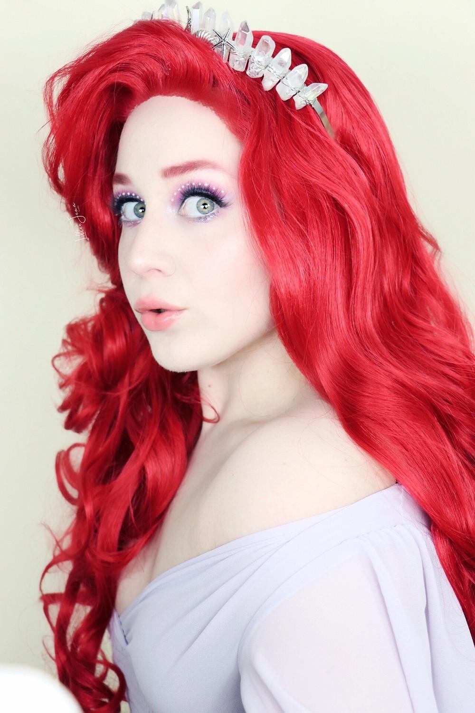 Disney Princess Ariel Makeup | Urban Decay Pearl Tutorial 2021 | Lillee Jean