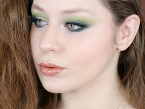 Essence Crystal Iced + Karity Come As You Are Soft Green Makeup Tutorial | Lillee Jean