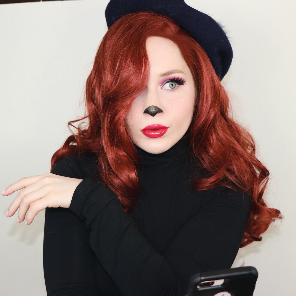 Beret Girl Extremely Goofy Movie MAKEUP TUTORIAL Disney 2020   Lillee Jean
