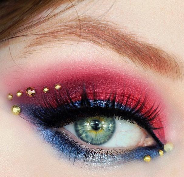 Super Mario Bros. Eyeshadow by Lillee Jean