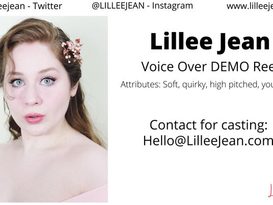 Lillee Jean Voice Over ACTING Demo Reel