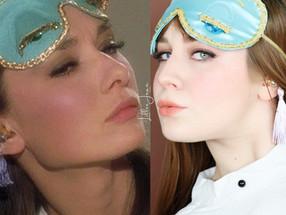 Audrey Hepburn Breakfast at Tiffany's SLEEP POUTY Makeup Tutorial UTOPIAT 2020 | Lillee Jean