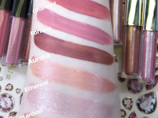 NEW Jouer Rose Cut Gems Collection Holiday 2019 Swatches | Lillee Jean