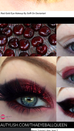 Lillee Jean's Cherry Red 2016 Makeup Tutorial Featured