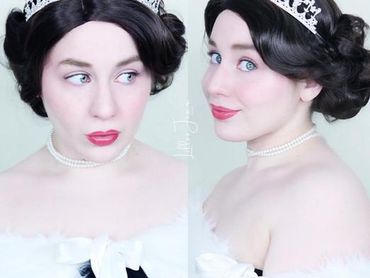 Queen Elizabeth II Inspired Makeup Tutorial | ROYAL | Essence Salut Paris 2021 | Lillee Jean