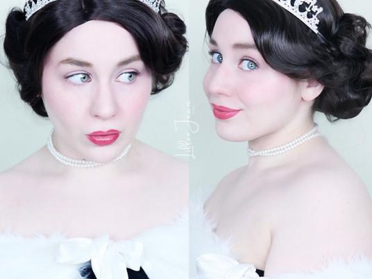 Queen Elizabeth II Inspired Makeup Tutorial   ROYAL   Essence Salut Paris 2021   Lillee Jean