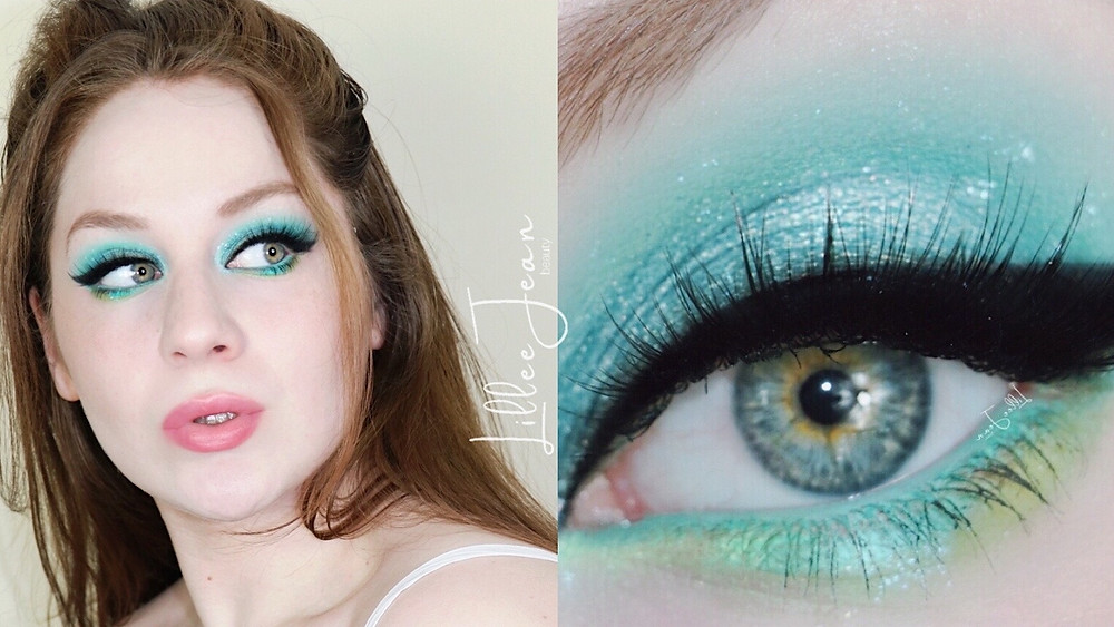 Teal Blue Summer Makeup Tutorial | Essence Venezia 2021 | Lillee Jean