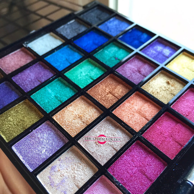 Jesse's Girl Masquerade Pallet Review, Swatches | 2016 Lillee Jean
