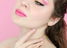 Essence Hey LA Pink & Yellow Summer Cut Crease Makeup Tutorial GRWM 2020 | Lillee Jean