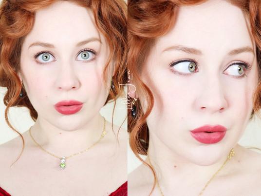 Rose Titanic Makeup Tutorial | Urban Decay Wild West 2021 | Lillee Jean