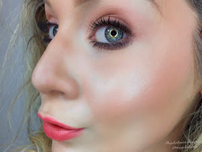 Dewy Fresh Faced Coral Everyday Spring Makeup Tutorial