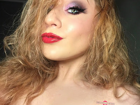 Jessica Rabbit Inspired Halloween Makeup Tutorial