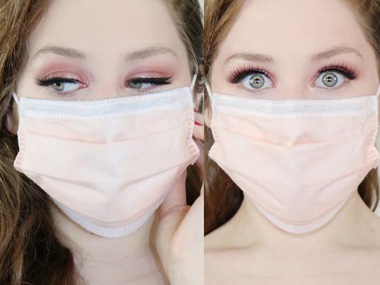 Makeup For Masks MATTE SKIN + ROSE GOLD EYESHADOW Makeup Tutorial 2020 | Lillee Jean