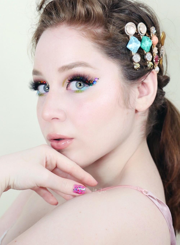 Rainbow Eyeliner Makeup | Essence Ciao Venezia 2021 | Lillee Jean