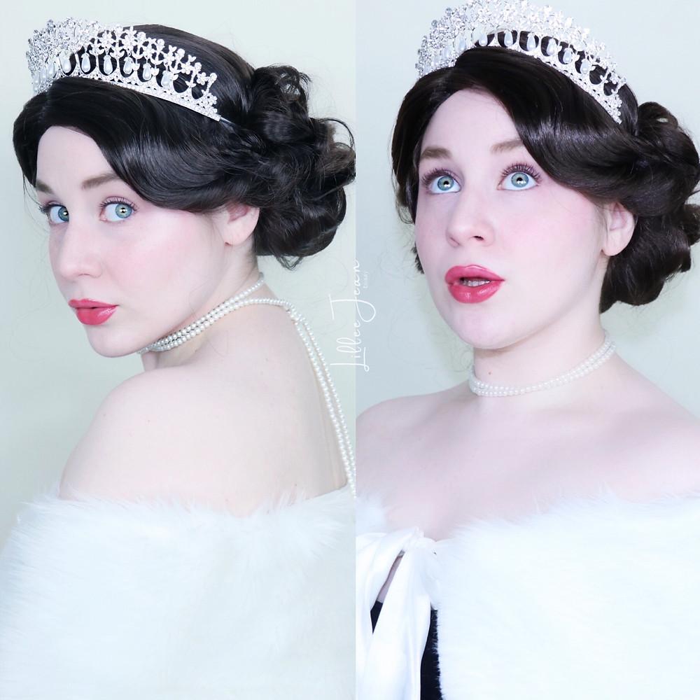 Queen Elizabeth II Makeup Tutorial   ROYAL   Essence Salut Paris 2021   Lillee Jean