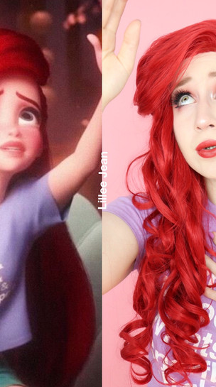 Ariel Wreck It Ralph 2 Comfy Princess Makeup Tutorial Disney Cosplay 2020 | Lillee Jean