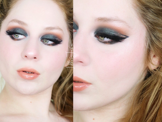 Tarte Tartelette LIL' TOASTED Green Abstract Liner New Years Makeup Tutorial 2020 | Lillee Jean