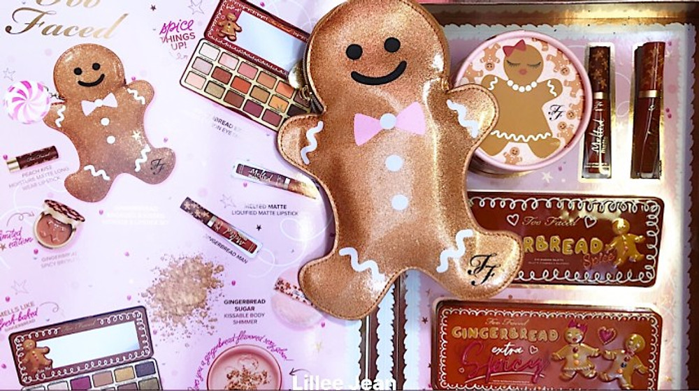 TOO FACED Holiday Gingerbread EXTRA SPICY and SPICE COLLECTION SWATCHES | Lillee Jean