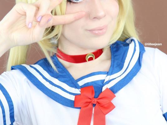 Sailor Moon Cosplay Makeup Tutorial | Natasha Denona Bronze 2020 | Lillee Jean