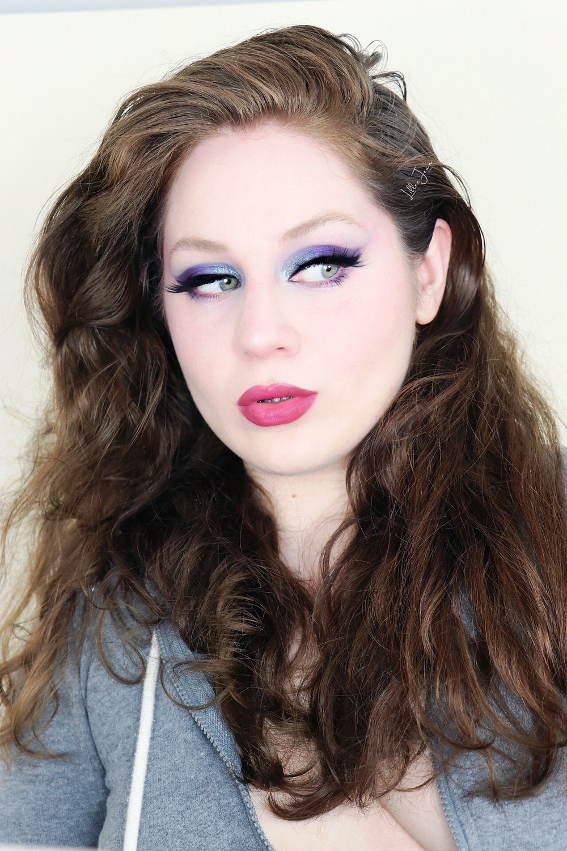 Makeup Revolution Teal and Purple Makeup Tutorial 2021 | Lillee Jean