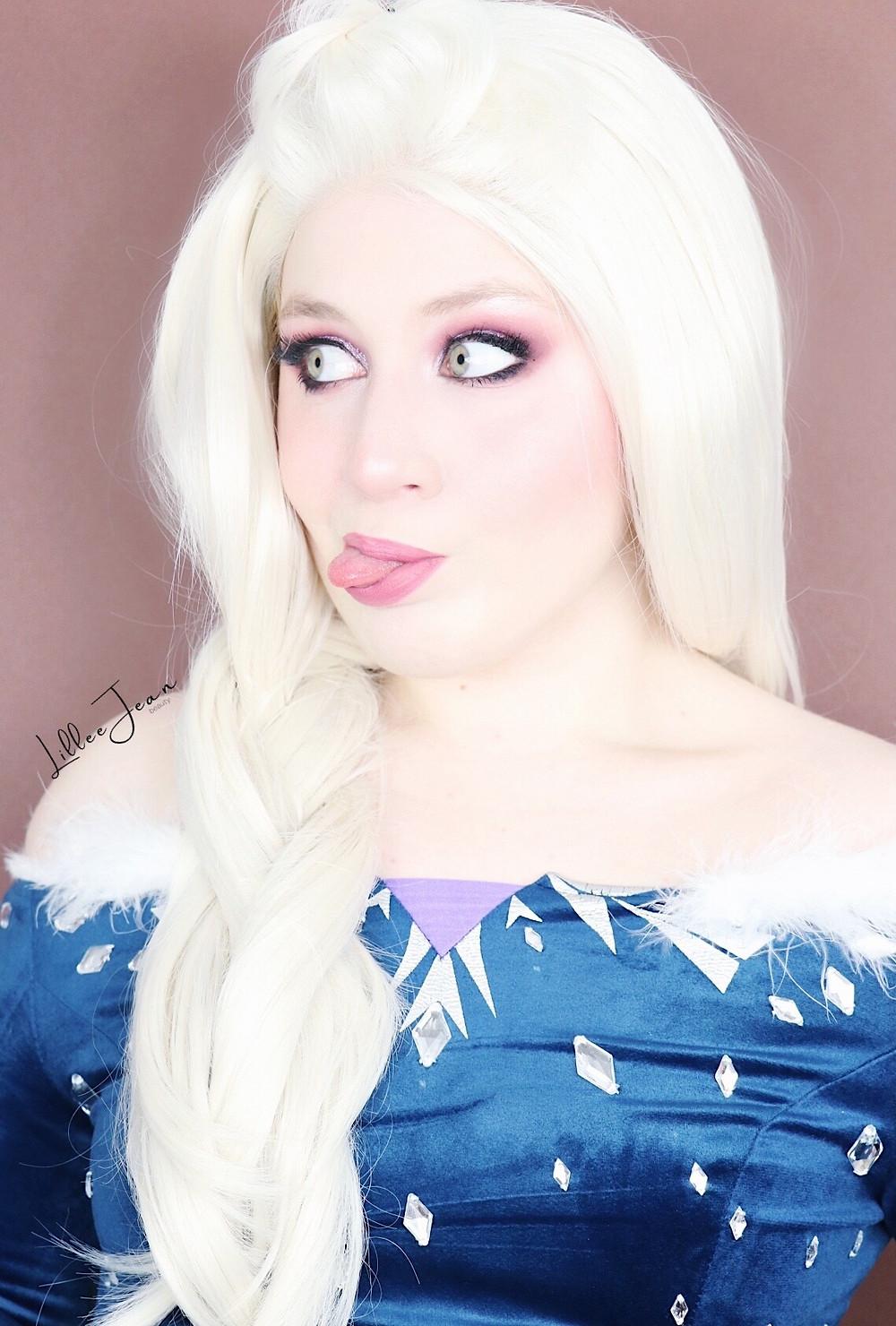 Elsa Olaf's Frozen Adventure Disney Princess HOLIDAY Makeup Tutorial 2020 | Lillee Jean