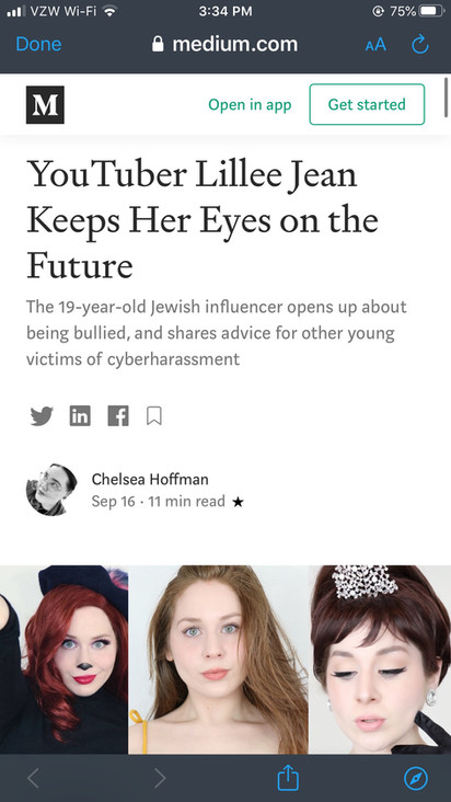 Cyberbullying Article Lillee Jean