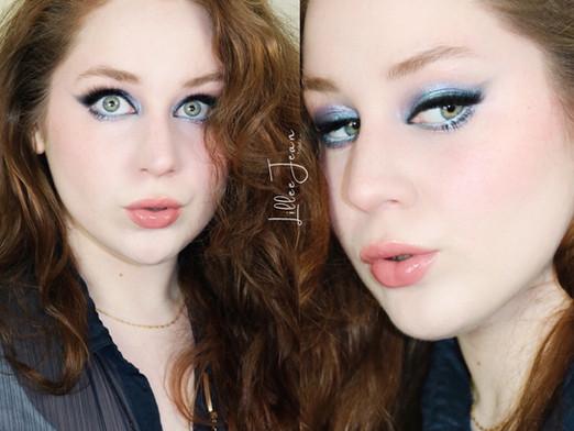 Clueless Blue Smokey Makeup Tutorial 2021 | Lillee Jean