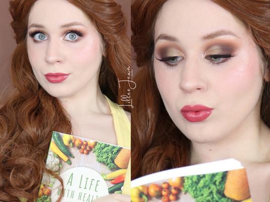 Belle Wreck-It Ralph 2 Comfy Princess Makeup Tutorial Disney 2020 | Lillee Jean