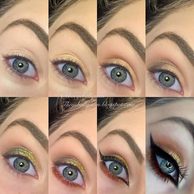 Aries Glittered Fire Makeup Tutorial 2016 | Lillee Jean