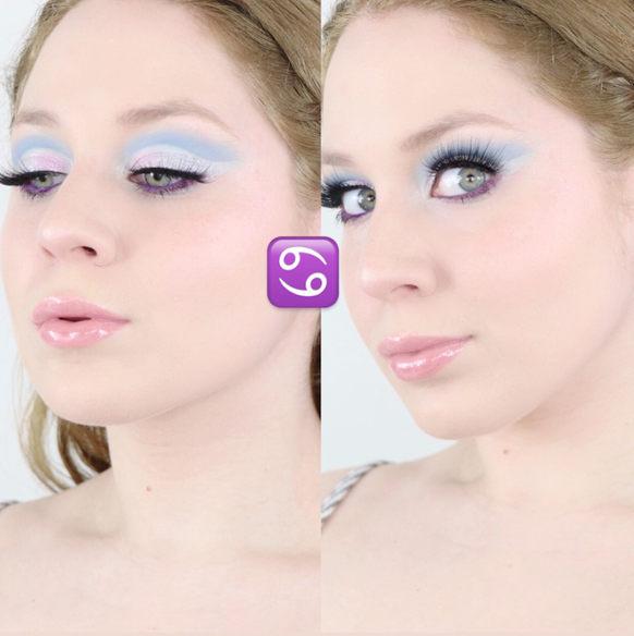Lillee Jean Cancer Zodiac Makeup