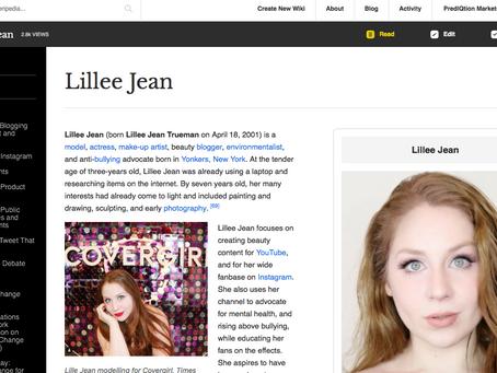 Lillee Jean on Everipedia