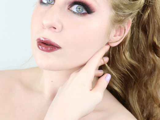Essence Bonjour Montreal Olive and Burgundy Halo Eye Makeup Tutorial 2020   Lillee Jean