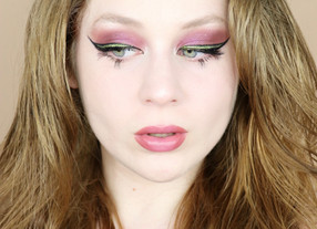 Nars EXTREME Effects Glitter Lime Green Eyeliner Makeup Tutorial 2020   Lillee Jean