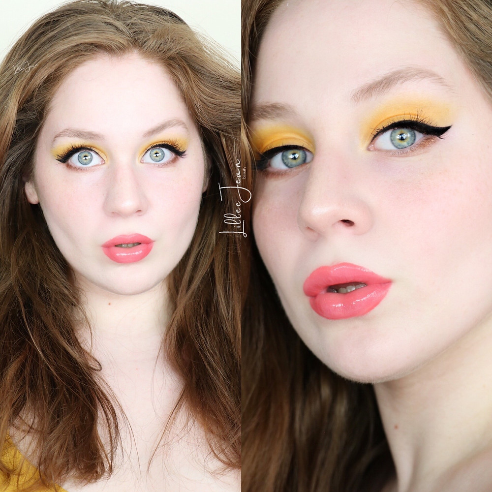 Yellow Eyeshadow Makeup Tutorial | Too Faced Light My Fire 2021 | Lillee Jean
