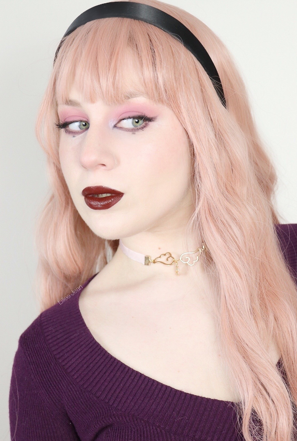 Pastel Goth Sleeping Beauty AURORA Huda Retrograde Disney Makeup Tutorial 2020 | Lillee Jean