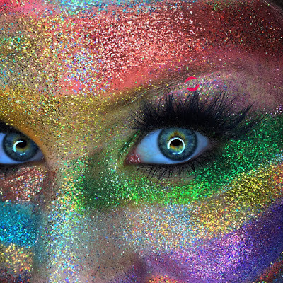 Glittering Rainbow Flag Makeup Tutorial 2016 Lillee Jean