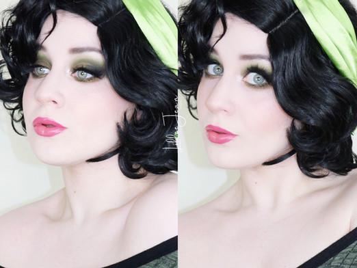PowerPuff Girls Buttercup GREEN Too Faced Makeup Tutorial 2021 | Lillee Jean