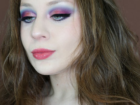 L.a. Girl Pink and Blue Cotton Candy Spring Makeup Tutorial 2020 | Lillee Jean