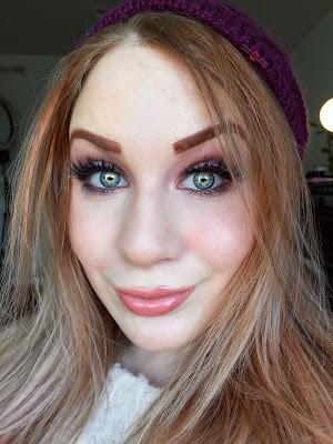 BRATZ Meygan Pink Winter Dream Glittery Mauve Makeup Tutorial 2016 | Lillee Jean
