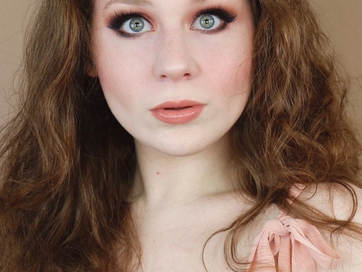Date Night Rose Golden Blush Makeup Tutorial FT. BH Fairy Lights | Lillee Jean