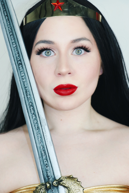 Wonder Woman SOFT GLAM Cosplay Makeup Tutorial GRWM 2020 | DC Comics | Lillee Jean