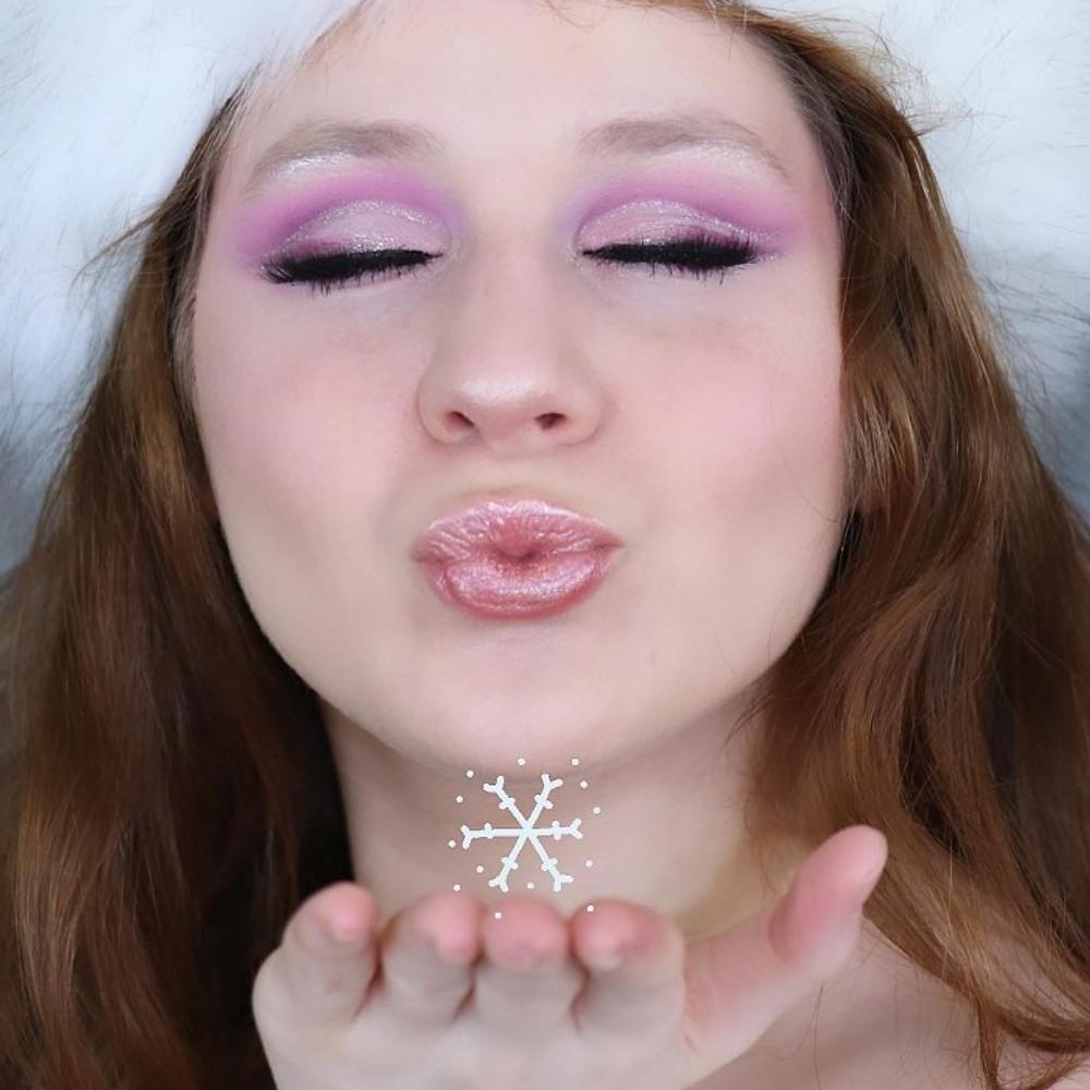 Glittery Purple Cut Crease Makeup Tutorial FT. Karity 21 Shadow In Matte | Lillee Jean