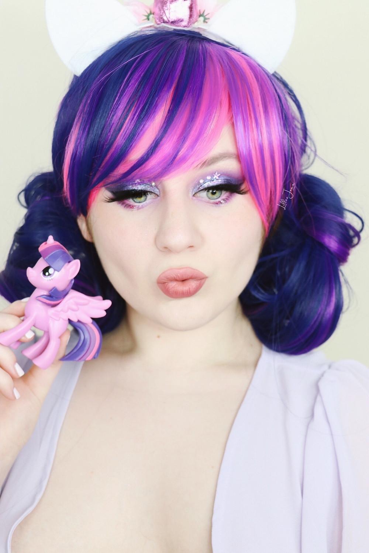 Twilight Sparkle My Little Pony Makeup | HIPDOT Tutorial 2021 | Lillee Jean